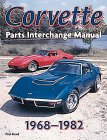 Corvette Parts Interchage Manual 1968-1982 (Powerpro)